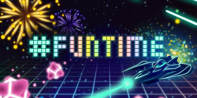 Newsbild zu Twin-Stick-Shooter #Funtime erscheint diesen Monat für Nintendo Switch