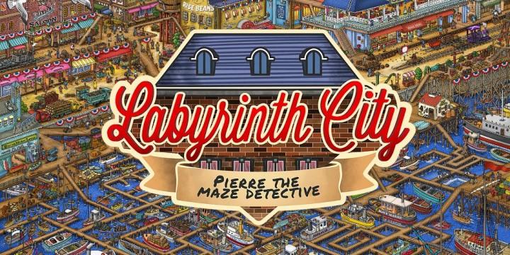 Newsbild zu Schärft euren Adlerblick – Labyrinth City: Pierre the Maze Detective erscheint am 15. Juli für die Nintendo Switch
