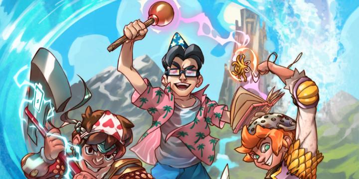 Newsbild zu Rundenbasiertes Strategiespiel Doom & Destiny Worlds bringt vier Nerds auf eine verlassene Insel