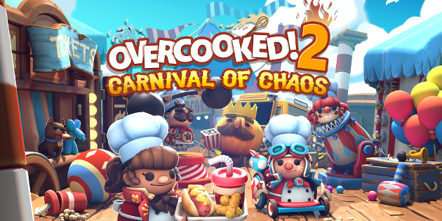 Newsbild zu Overcooked! 2: Carnival of Chaos bringt in Bälde neues Spielefutter