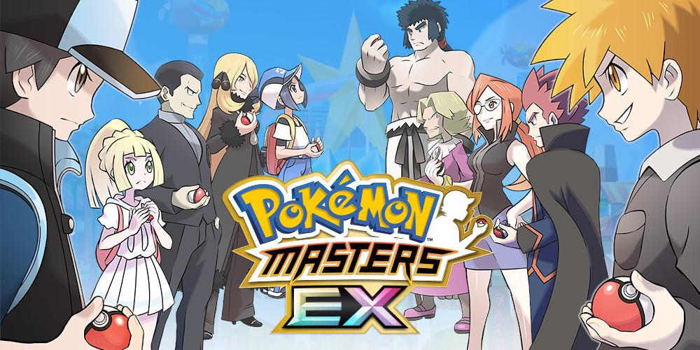 Pokémon Masters EX - Keyart