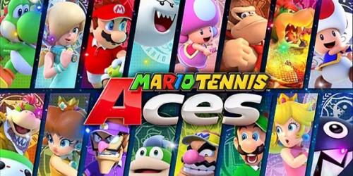 Newsbild zu Mario Tennis Aces: Nutzer von Nintendo Switch Online können den Titel in der kommenden Woche kostenlos ausprobieren