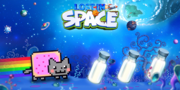 Newsbild zu Nyan Cat: Lost in Space düst in 20 Minuten Gameplay-Material durchs All