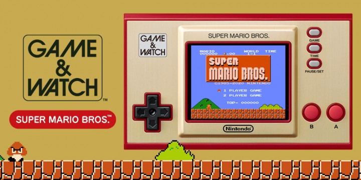 Newsbild zu Game & Watch: Super Mario Bros. soll bis zum 31. März 2021 an Handelspartner ausgeliefert werden