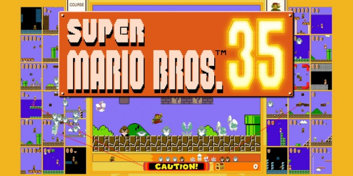 Newsbild zu Zwischenergebnisse der zweiten globalen Team-Herausforderung in Super Mario Bros. 35 bekannt gegeben