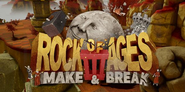 Newsbild zu Rock of Ages 3: Make & Break rollt Anfang Juni auf die Nintendo Switch