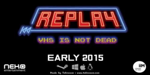 Newsbild zu REPLAY : VHS is not dead erscheint übernächste Woche im Wii U eShop