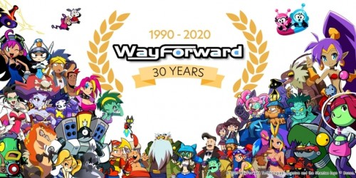Newsbild zu WayForward feiert 30-jähriges Bestehen