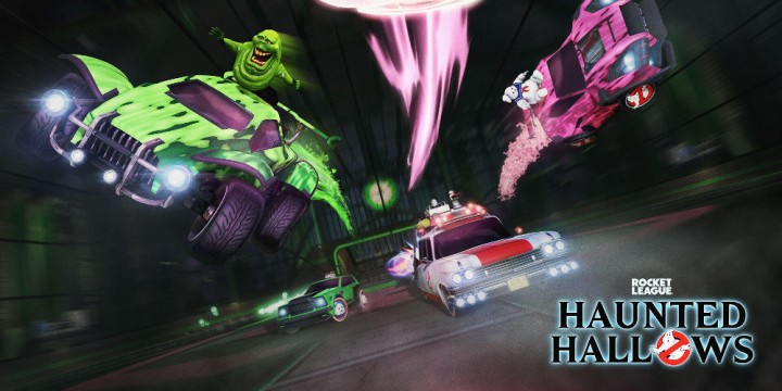 Newsbild zu Rocket League: Startet ab sofort mit den Ghostbusters beim Haunted Hallows-Event durch
