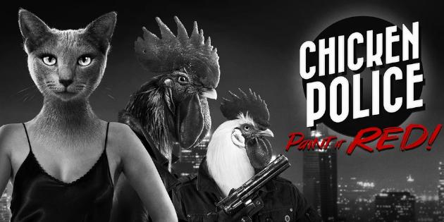 Newsbild zu HandyGames kündigt Chicken Police für die Nintendo Switch an