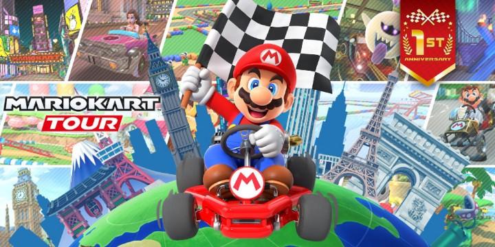 Newsbild zu Happy Birthday – Mario Kart Tour feiert seinen ersten Geburtstag mit der 1st Anniversary Tour