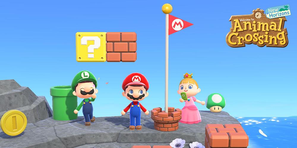 Animal Crossing: New Horizons – Super Mario Bros.
