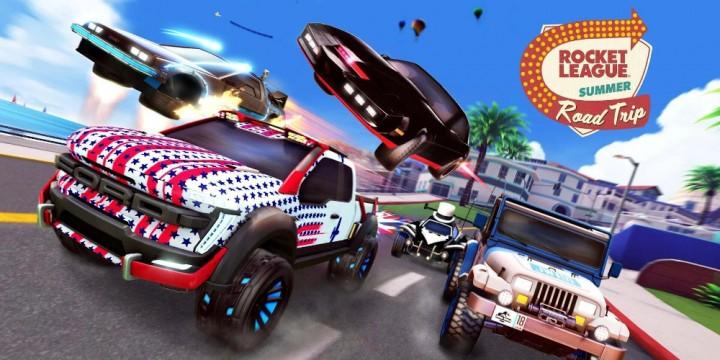 Newsbild zu Macht euch bereit für den Summer Road Trip in Rocket League – Event im Juli bringt viele Fahrzeuge und weitere Extras