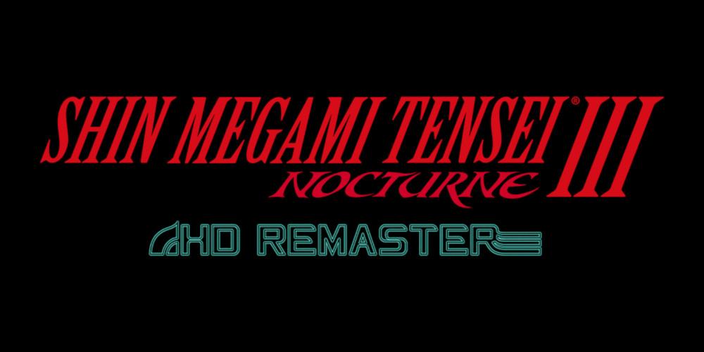Shin Megami Tensei III Nocturne: HD Remaster - Logo