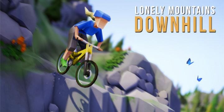 Newsbild zu Demoversion zu Lonely Mountains: Downhill steht ab sofort im Nintendo eShop bereit