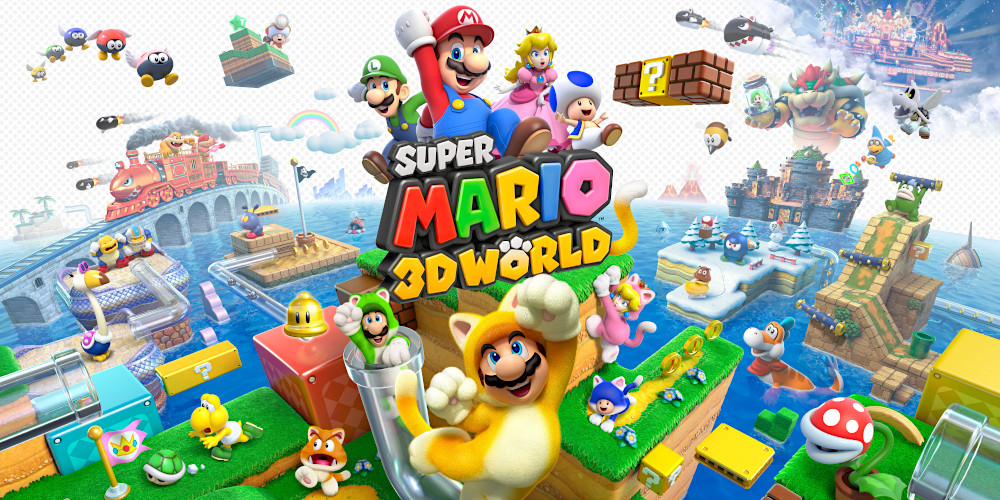 Super Mario 3D World - Keyart