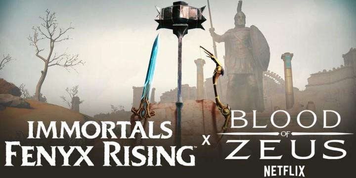Newsbild zu Immortals Fenyx Rising trifft Blood of Zeus: Kollaboration mit Netflix-Serie gestartet