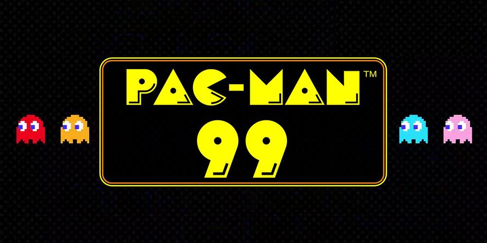 PAC-MAN 99 - Keyart