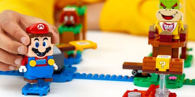 Newsbild zu LEGO Super Mario – Nintendo veröffentlicht Unboxing-Video zu allen bekannten Sets