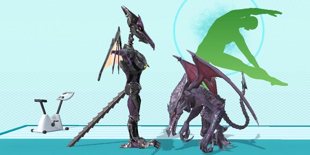 Super Smash Bros. Ultimate T-Pose Ridley