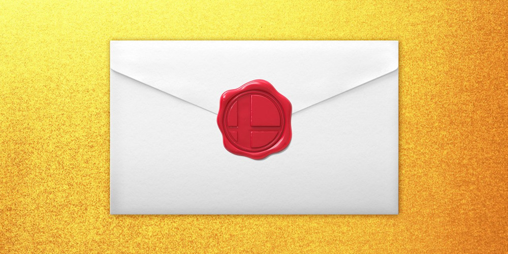 Super Smash Bros. Ultimate - Einladungsbrief