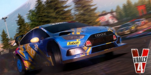 Newsbild zu Erstes Gameplay-Material von V-Rally 4 für Nintendo Switch gesichtet