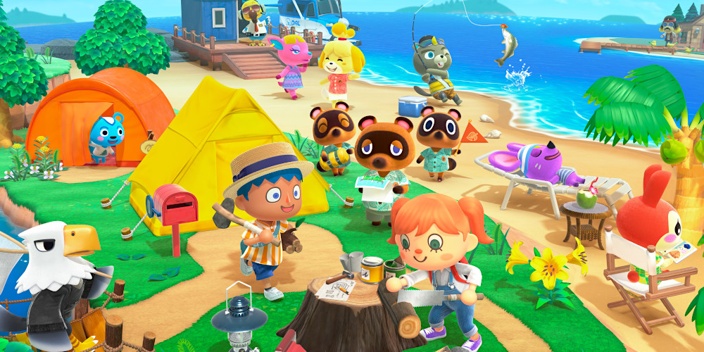 Animal Crossing: New Horizons - Keyart