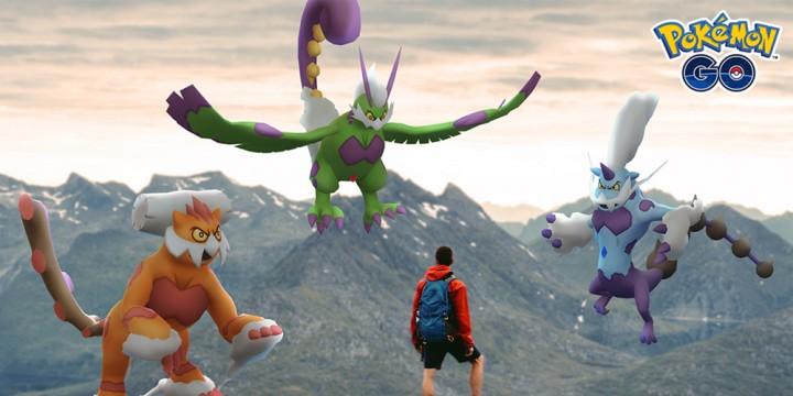 Newsbild zu Boreos, Voltolos und Demeteros in ihren Tiergeistformen tauchen bald in Pokémon GO auf