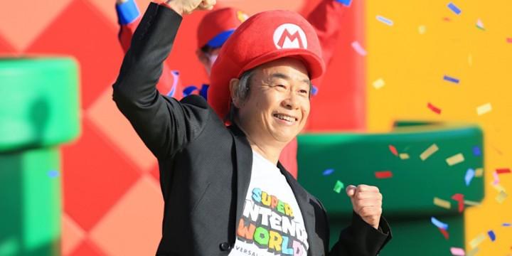 Newsbild zu Super Nintendo World endlich eröffnet – Nintendo zeigt Bilder der großen Eröffnungszeremonie mit Shigeru Miyamoto