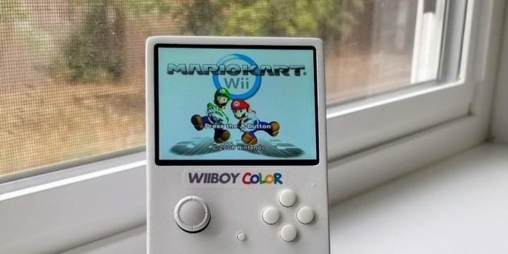 Newsbild zu Eine Wii für unterwegs – Fan baut Wii-Handheld im Game Boy Color-Format