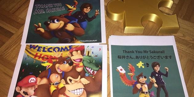 Newsbild zu Fans bedanken sich auf besondere Weise für Banjo-Kazooie in Super Smash Bros. Ultimate