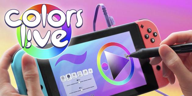 Newsbild zu Colors Live – Schöpfer Jens Andersson erklärt die Funktionsweise des druckempfindlichen Stylus