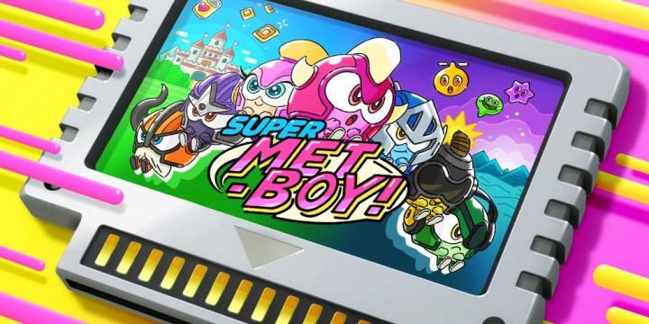 Newsbild zu Super MetBoy! erscheint am 4. März für die Nintendo Switch