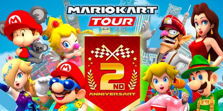 Newsbild zu Update für Mario Kart Tour stimmt auf die 2.-Jubiläum-Tour-Saison ein