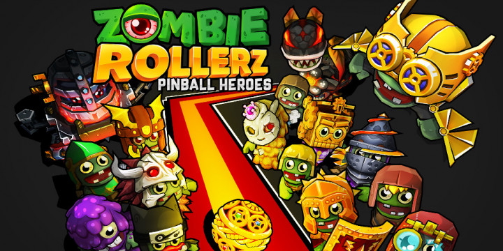 Newsbild zu Zombie Rollerz: Pinball Heroes – Stürzt euch Ende des Jahres in den Kampf gegen die Untoten mit klassischer Flippermechanik