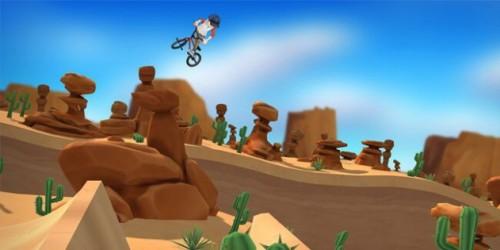 Newsbild zu Neues Gameplay-Video zu Pumped BMX +