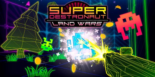 Newsbild zu Nintendo Switch-Spieletest: Super Destronaut: Land Wars