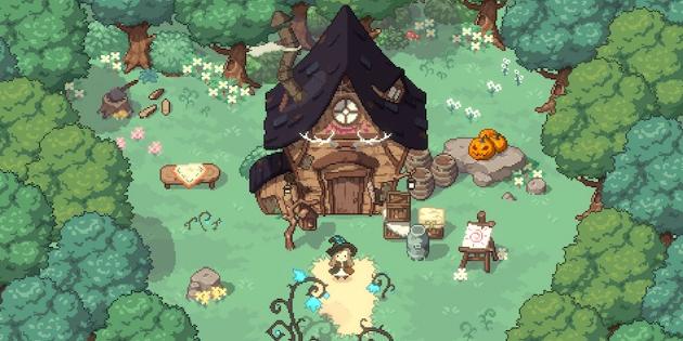 Newsbild zu Little Witch in the Woods erscheint möglicherweise auch für Nintendo Switch