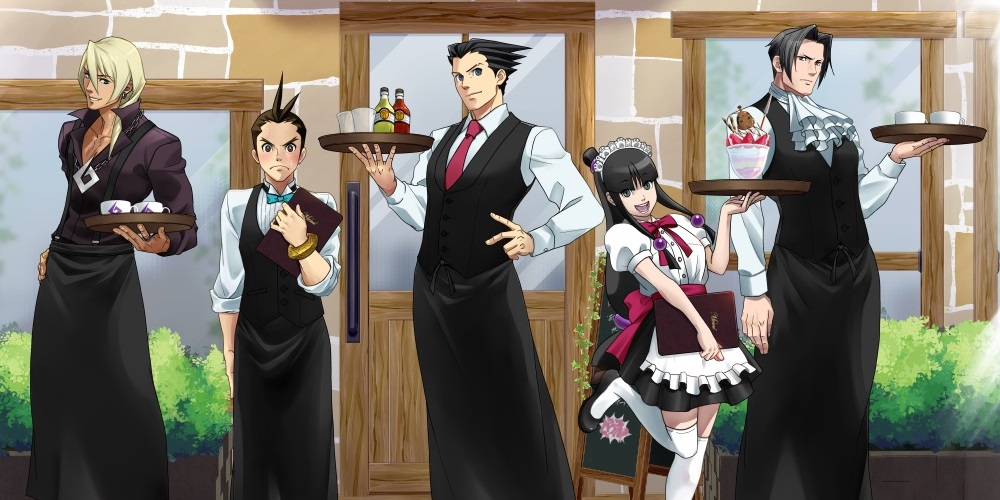Ace Attorney Capcom Cafe