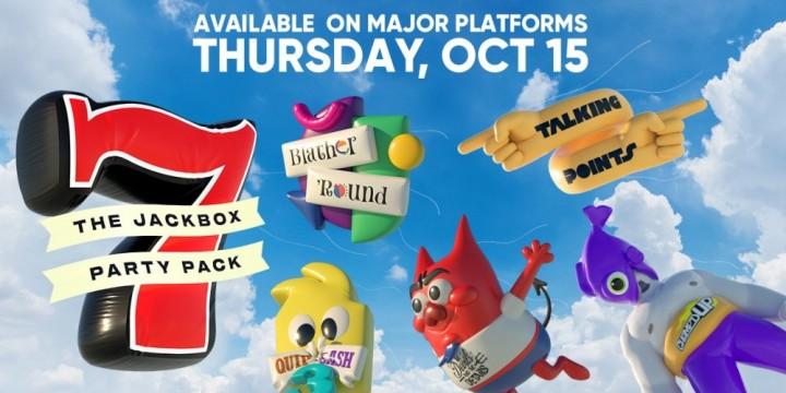 Newsbild zu Let's Party – Offizieller Trailer für The Jackbox Party Pack 7 enthüllt