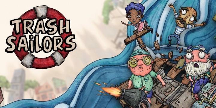 Newsbild zu Neuer Trailer zu Trash Sailors veröffentlicht – Demoversion für Steam erhältlich