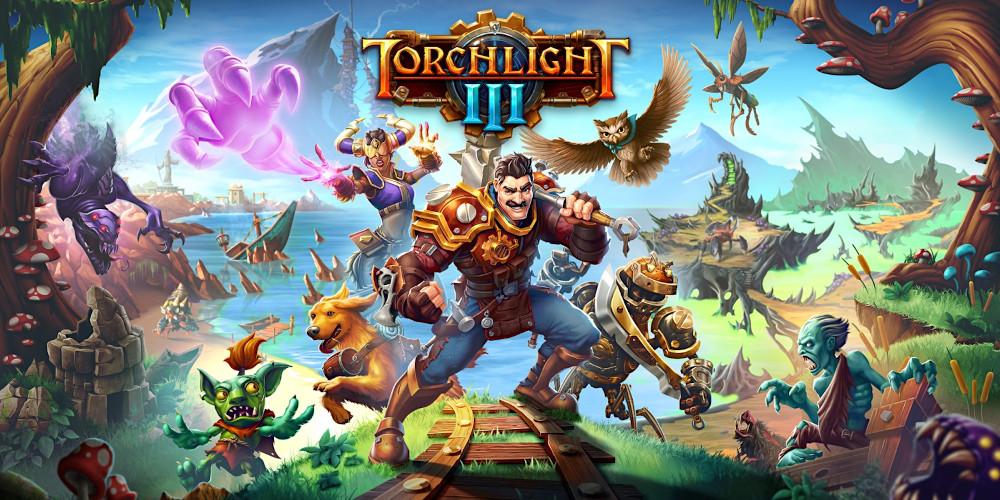 Torchlight III - Keyart