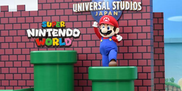 Newsbild zu Aktualisiertes Konzeptbild zeigt Super Nintendo World im Universal Studios Japan-Themenpark