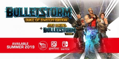 Newsbild zu Abgedrehter Shooter Bulletstorm: Duke of Switch Edition erscheint im Sommer