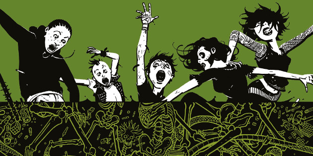 Newsbild zu Comic-Rezension: Deadly Class Band 3 – Die Schlangengrube