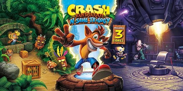 Crash Bandicoot N. Sane Trilogy kommt früher als erwartet