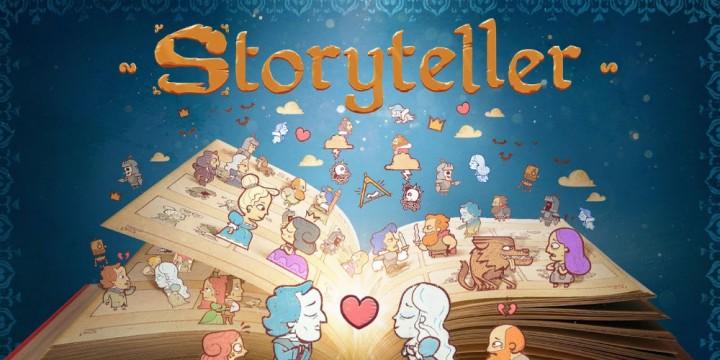 Newsbild zu Hier erzählt ihr die Geschichten: Puzzle-Spiel Storyteller schlägt sein Kapitel im Februar 2022 auf