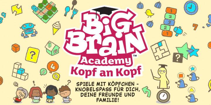 Newsbild zu Jetzt vorbestellen: Handelsversion von Big Brain Academy: Kopf an Kopf für die Nintendo Switch