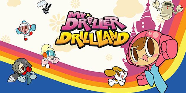 Newsbild zu Bandai Namco Entertainment bewirbt Mr. Driller DrillLand mit kurzem Animationsvideo
