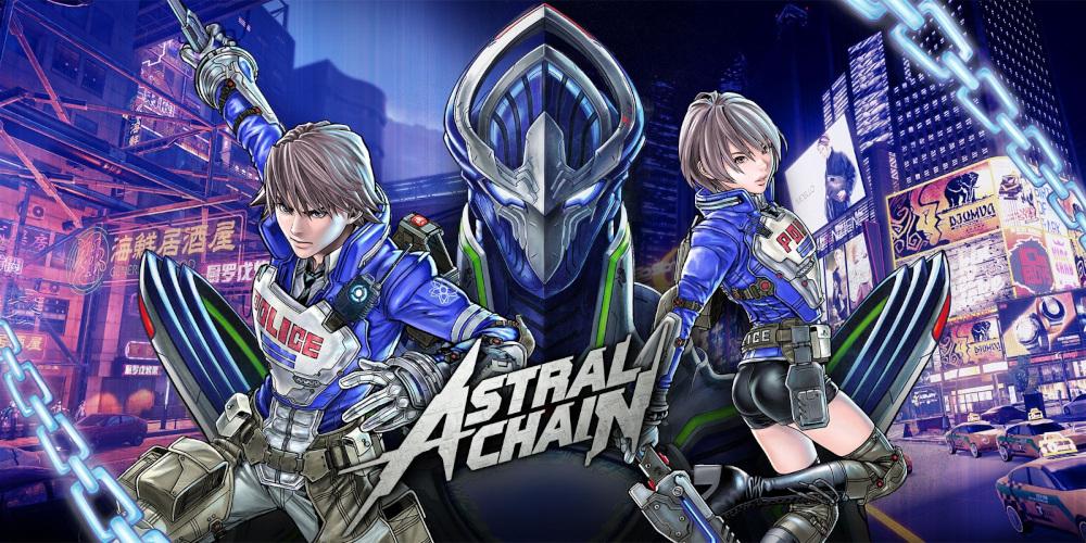 Astral Chain - Main Artwork